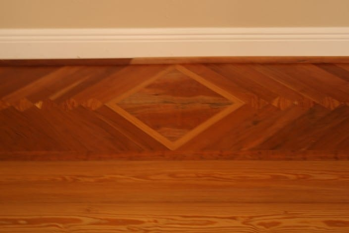 Antique Wood Floors Over Radiant Heat