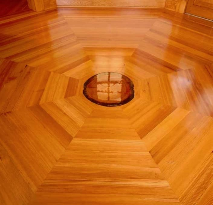 Antique Heart Pine flooring from Reclaimed boards