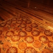 Log Rounds and Wood Tiles for Antique Wood Floors 1