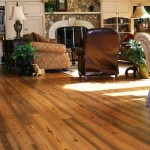 Antique Midnight Heart Pine