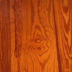 Curly Heart Pine Flooring