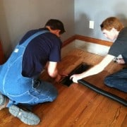 Public Invited to View Key West Custom House Wood Floor Re-finish 2