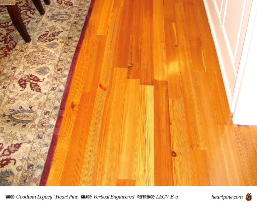 Legacy Heart Pine Vertical - Engineered