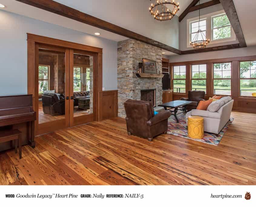 Goodwin Legacy™ Heart Pine GRADE: Naily REFERENCE: NAILY-5
