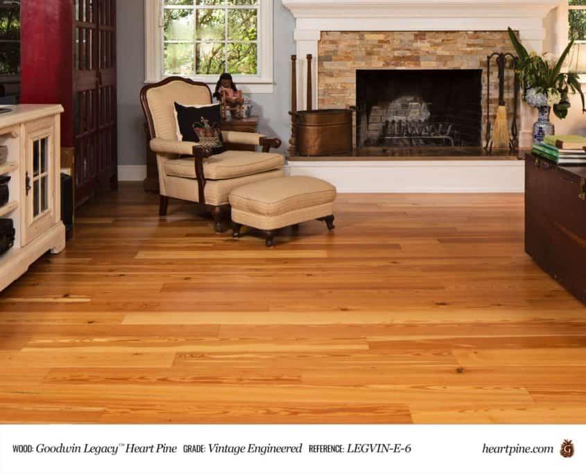 Legacy Heart Pine Vintage - Engineered