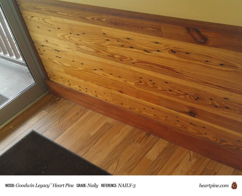 Legacy Heart Pine Naily Wood Flooring