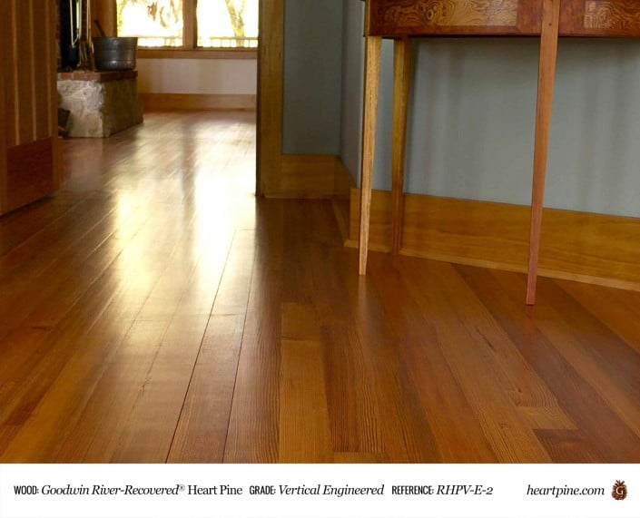 Goodwin PE Collection Heart Pine Vertical Engineered RHPV