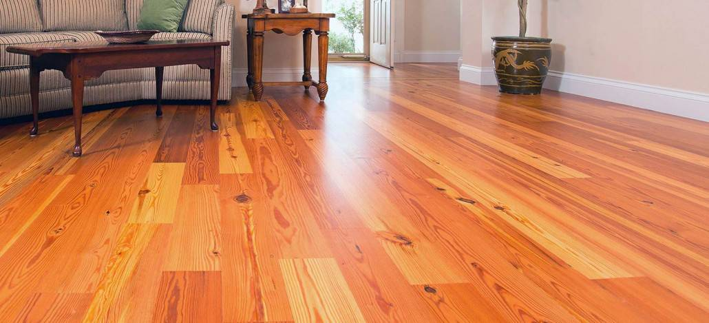 Legacy Heart Pine Vintage Engineered Wood Flooring
