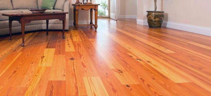 Legacy Heart Pine Vintage Engineered Wood Flooring