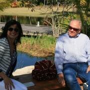 Naples Botanical Gardens – Handmade Bench Dedication 12