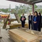 Undersecretary of USDA Rural Development  Visits Goodwin Company 2