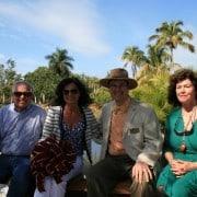 Naples Botanical Gardens – Handmade Bench Dedication 16