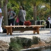 Naples Botanical Gardens – Handmade Bench Dedication 17