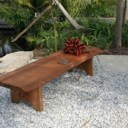 Naples Botanical Gardens – Handmade Bench Dedication 9