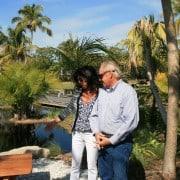 Naples Botanical Gardens – Handmade Bench Dedication 18