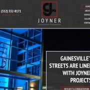Congratulations to our friends at Joyner Construction on the launch of their beautiful new website!