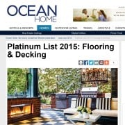 "Goodwin made the 2015 Platinum List in Ocean Home magazine's ""Best of the Best"" issue"