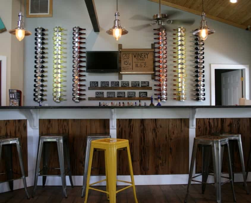 Pecky Cypress Pairs Perfectly with Distinct Wines 9
