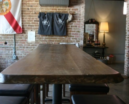 The Local Public House: River-Recovered Heart Cypress Bar Tops make an Impression 4