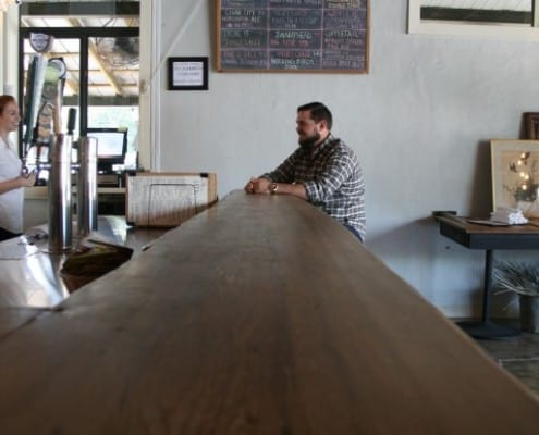 The Local Public House: River-Recovered Heart Cypress Bar Tops make an Impression 6