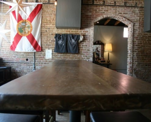 The Local Public House: River-Recovered Heart Cypress Bar Tops make an Impression 8