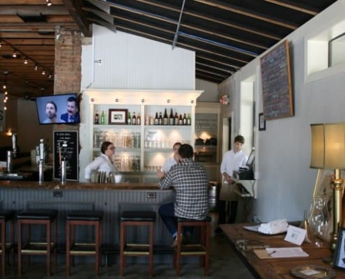 The Local Public House: River-Recovered Heart Cypress Bar Tops make an Impression 10