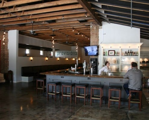 The Local Public House: River-Recovered Heart Cypress Bar Tops make an Impression 11