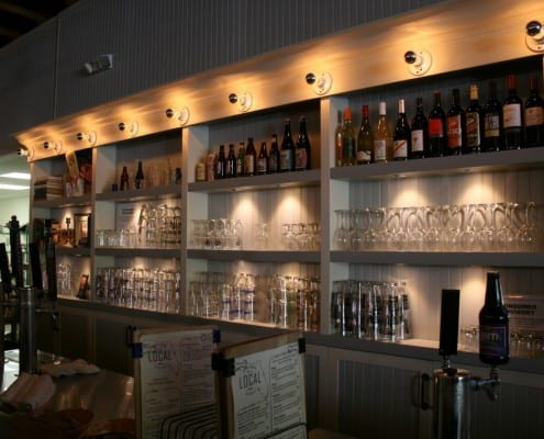 The Local Public House: River-Recovered Heart Cypress Bar Tops make an Impression 16
