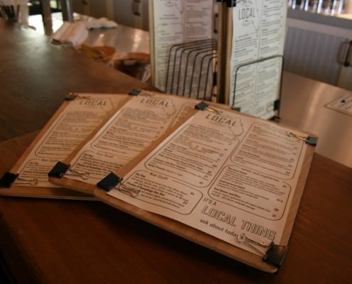 The Local Public House: River-Recovered Heart Cypress Bar Tops make an Impression 17