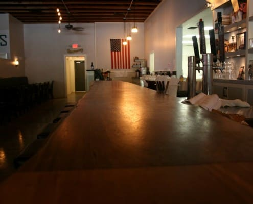 The Local Public House: River-Recovered Heart Cypress Bar Tops make an Impression 18