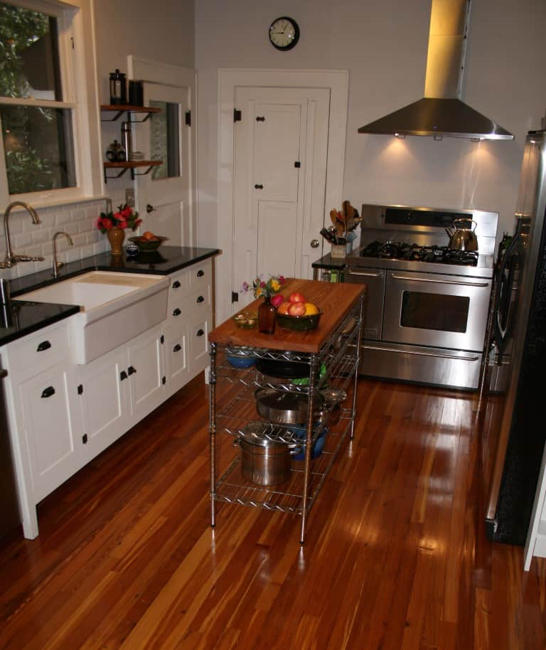 Heart Pine Perfect For Your Kitchen Too