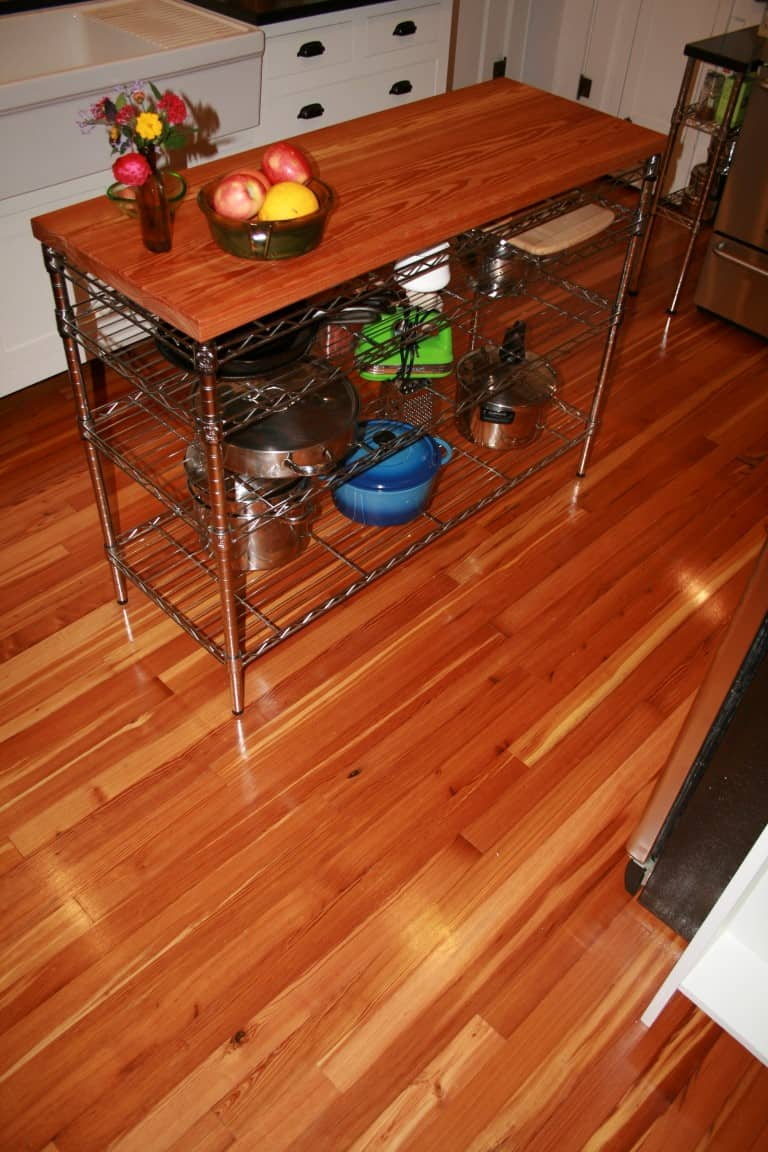 Heart Pine Kitchen Flooring Wood Floors