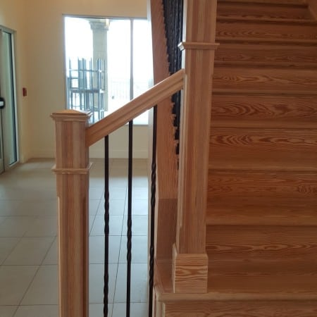 Sinker Pine Stairs – Aren't They Gorgeous? 1