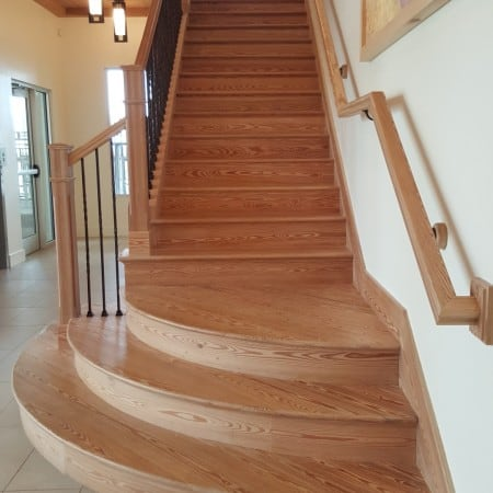 Sinker Pine Stairs – Aren't They Gorgeous? 2
