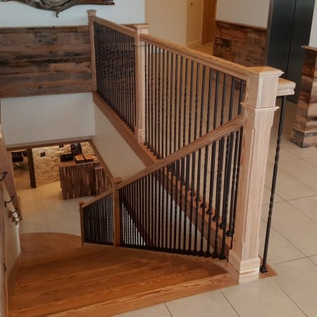 Sinker Pine Stairs – Aren't They Gorgeous? 6