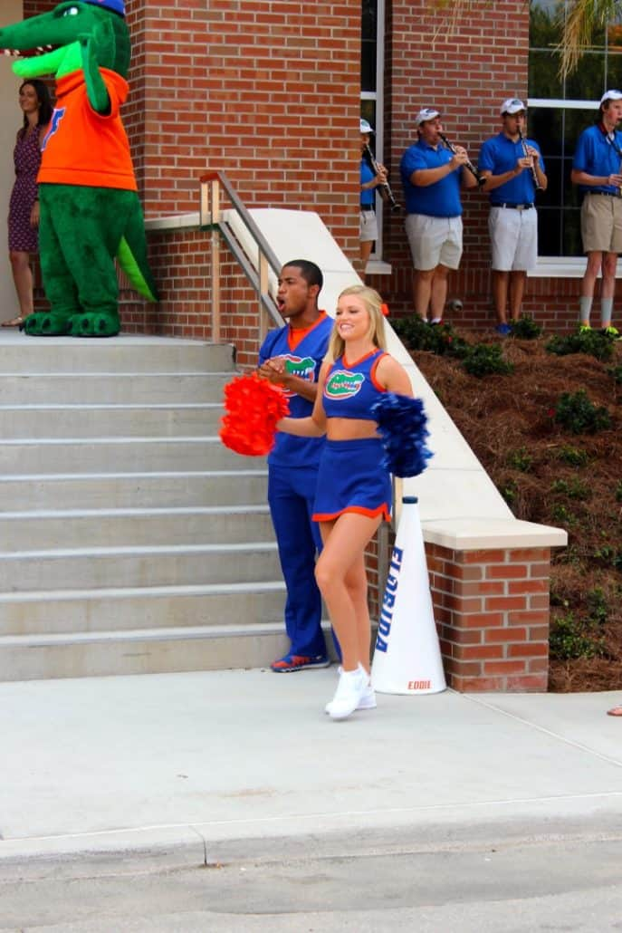 What a Day – For Both UF Athletics and Antique Heart Pine! 12