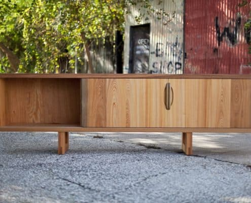 Using Antique Wood to Warm Up a Contemporary Space 19