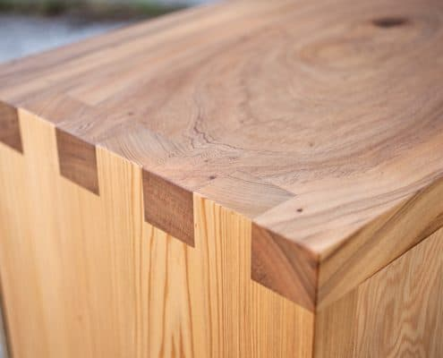 Using Antique Wood to Warm Up a Contemporary Space 24