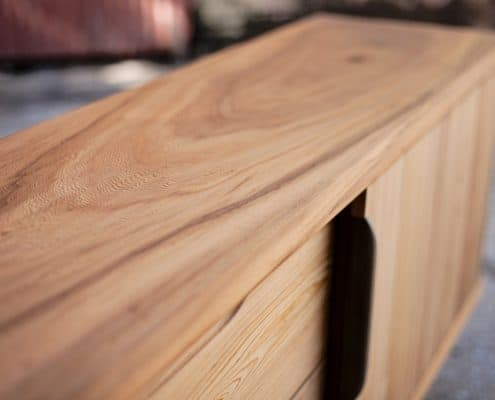 Using Antique Wood to Warm Up a Contemporary Space 26