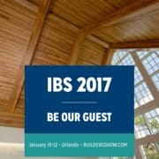 Join us at the 2017 International Builders' Show (IBS) 2