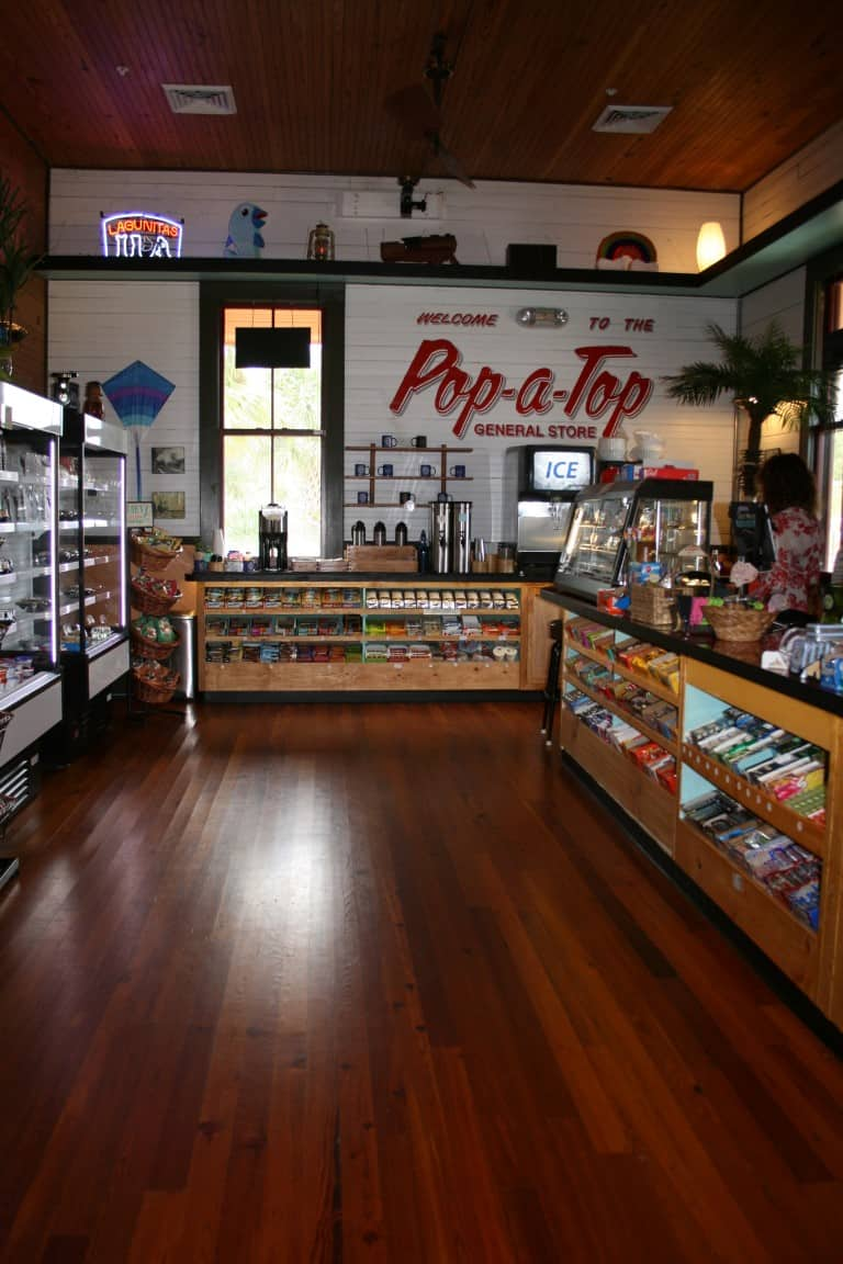 Pop A Top General Store At Depot Park Legacy Heart Pine