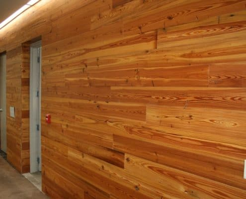 Contemporary Application of Building Reclaimed Longleaf Pine