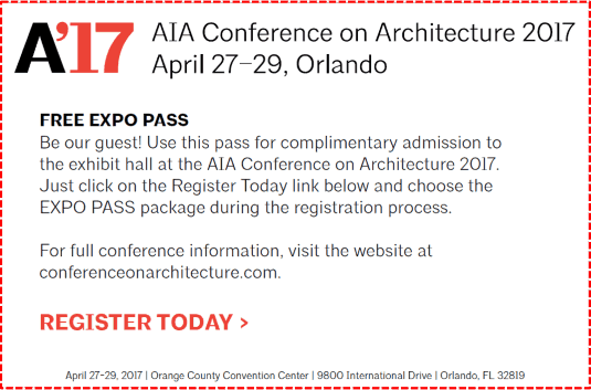 2017 American Institute of Architects (AIA) Conference
