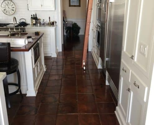 Wow! This Antique Wood Kitchen Flooring is as Unique as it is Gorgeous
