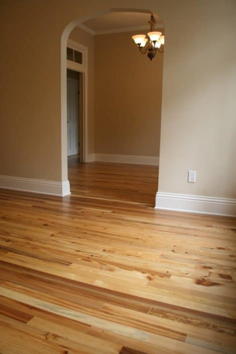 Luxury Condos in America's Oldest City Feature Antique River-Recovered® Heart Pine and Longleaf Throughout 3