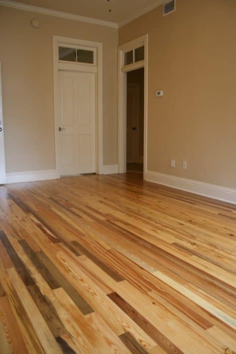 Luxury Condos in America's Oldest City Feature Antique River-Recovered® Heart Pine and Longleaf Throughout 4