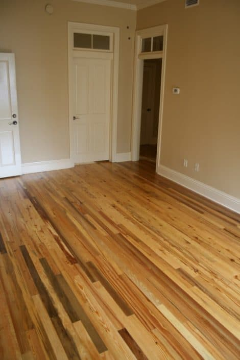 Luxury Condos in America's Oldest City Feature Antique River-Recovered® Heart Pine and Longleaf Throughout 16
