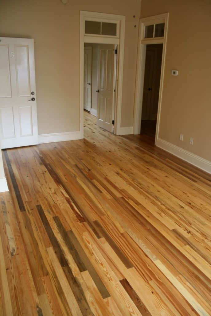 Luxury Condos in America's Oldest City Feature Antique River-Recovered® Heart Pine and Longleaf Throughout 10