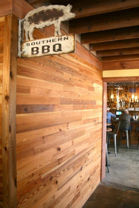 River-Recovered® Heart Pine Adds Southern Charm to Popular BBQ Restaurant 9