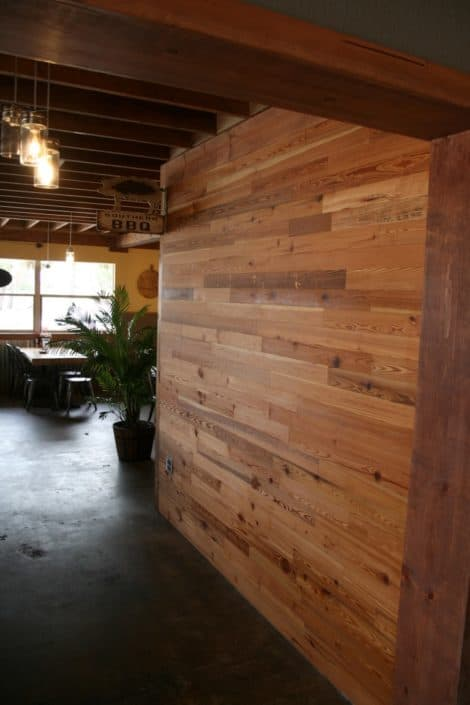 River-Recovered® Heart Pine Adds Southern Charm to Popular BBQ Restaurant 3